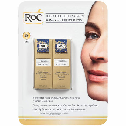 RoC Retinol Correxion Anti-Aging Eye Cream Treatment 0.5 fl.oz. 2 pk