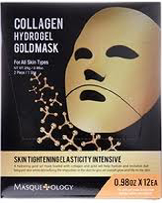 Masqueology Gold Gel Mask Set 12 ct.