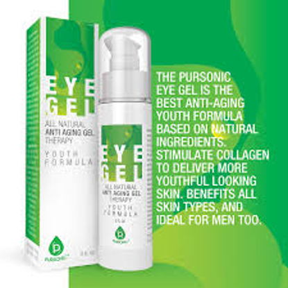 Pursonic All Natural Youth Formula Professional Anti-Aging Eye Gel Therapy 2 oz.