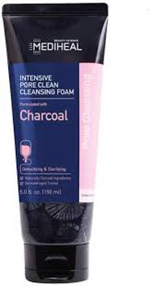 Mediheal Charcoal Intensive Pore Clean Cleansing Foam 3 pk.