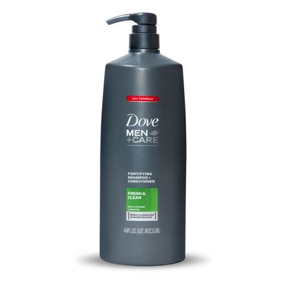 Dove Men + Care 2-in-1 Shampoo + Conditioner, Fresh & Clean 40 fl. oz.