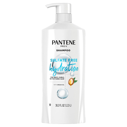 Pantene Pro-V Sulfate Free Hydration Shampoo with Argan Oil 38.2 fl. oz.
