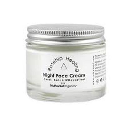 NuReveal Organics Rosehip Healing Night Cream, 2.0 oz