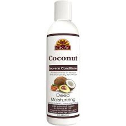 OKAY Coconut Deep Moisturizing  Sulfate, Silicone, Paraben Free, Four Piece Set