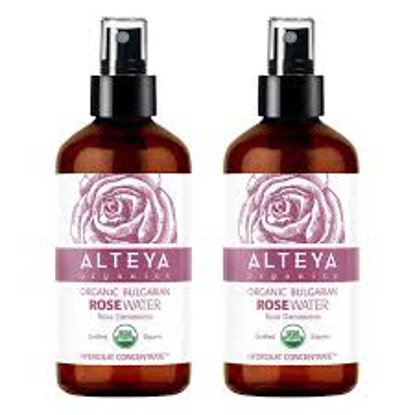 Alteya Organics Bulgarian Rose Water 8.0 fl oz, 2-pack
