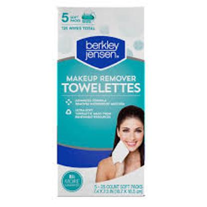 Berkley Jensen Makeup Remover Wipes, 125 ct