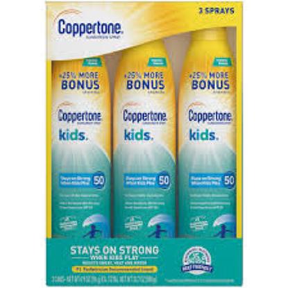 Coppertone Sunscreen Spray for Kids, 3 pk.