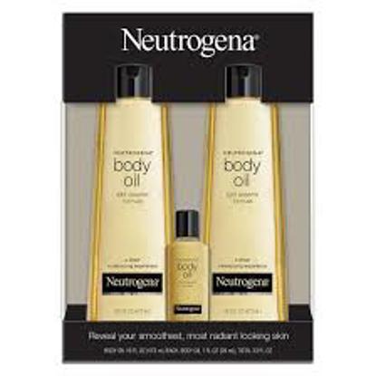 Neutrogena Body Oil Light Sesame Formula Sesame Oil, 2 pk.16 fl. oz. with Bonus 1 fl. oz. Bottle