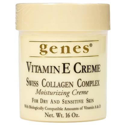 Genes Vitamin E Creme 16 oz.