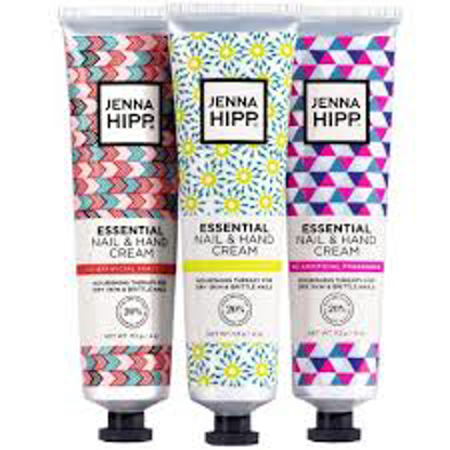 Jenna Hipp Essential Nail & Hand Cream  4 oz. ea. 3 pk.