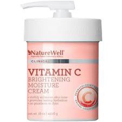 Nature Well Vitamin C Brightening Moisture Cream 16 oz.
