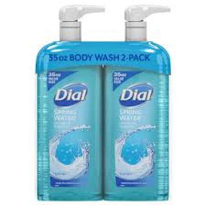 Dial Body Wash, Spring Water 35 fl. oz. 2 pk.