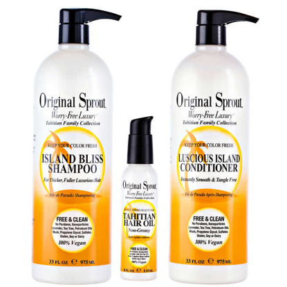 Original Sprout Island Bliss Hair Care Set