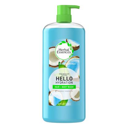 Herbal Essences Hello Hydration Shampoo and Body Wash 40 oz.