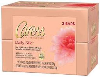 Caress Silkening Beauty Bar, Daily Silk 3.75 oz.16 ct.