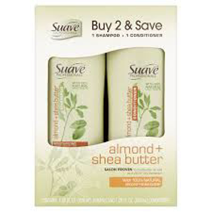 Suave Professionals for Natural Hair Shampoo and Conditioner Pack  2 ct.