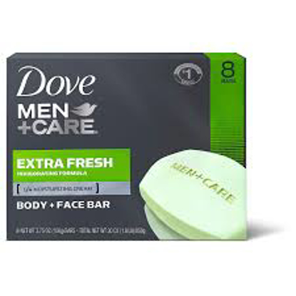 Dove Men+Care Body and Face Bar Extra Fresh 3.75 oz. 14 ct.