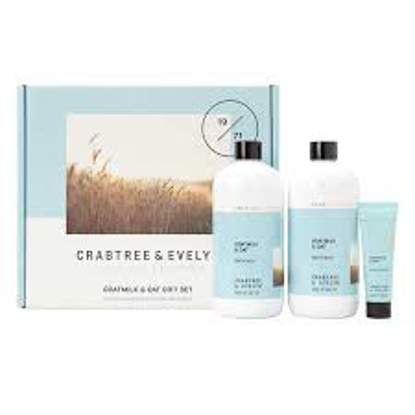 Crabtree & Evelyn Goatmilk & Oat Bath Milk And Hand Cream Set