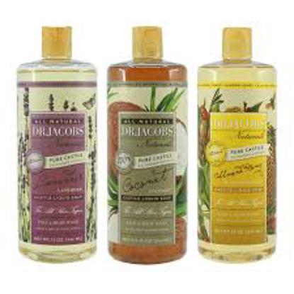 Dr. Jacobs Naturals Pure Castile Soap, 32 fl oz 3 pack
