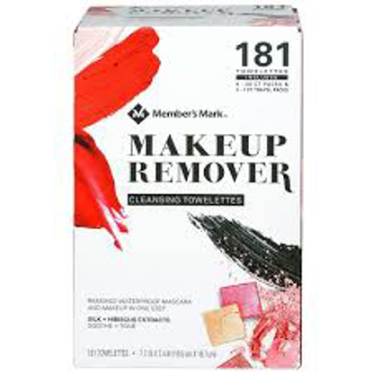 Member's Mark Makeup Remover Cleansing Towelettes 181 ct.