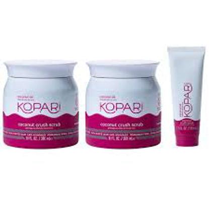 KOPARi Beauty Coconut Crush Exfoliating Scrub 3 pack
