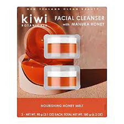 Kiwi Botanicals Nourishing Honey Melt Facial Cleanser 2 ct.