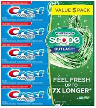 Crest Complete Whitening + Scope Toothpaste 7.3 oz. 5 pk.