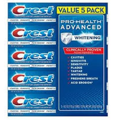 Crest Pro-Health Advanced Whitening Power Toothpaste 6 oz. 5 ct