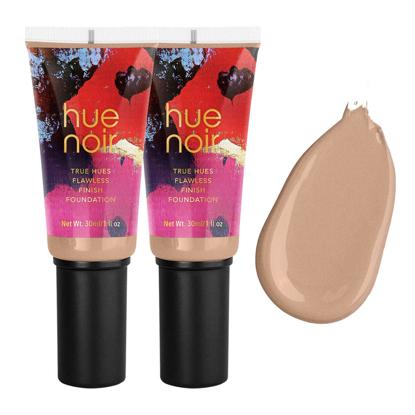 Hue Noir Flawless Matte Finish Foundation 2-pack