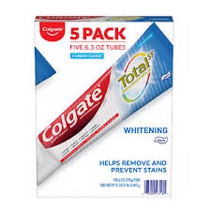 Colgate Total Whitening Toothpaste 6.3 oz. 5 pk.