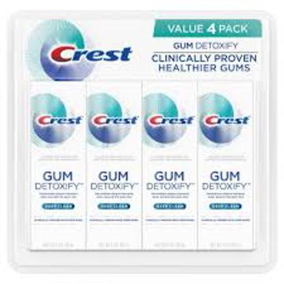Crest Gum Detoxify Toothpaste, Deep Clean 4.1 oz. 4 pk.