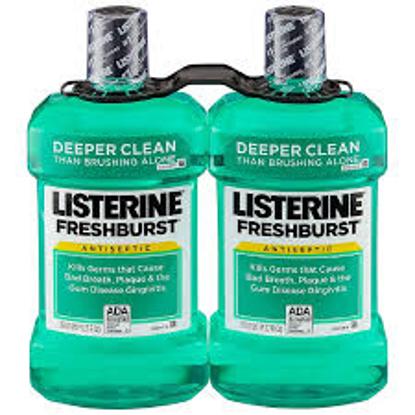 Listerine Freshburst Antiseptic Mouthwash 1.5L 2 pk.