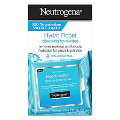 More Images  Neutrogena HydroBoost Face Cleansing and Makeup Remover Wipes 100 ct.