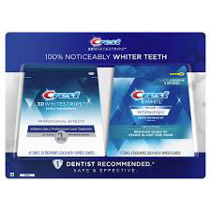 Crest 3D Whitestrips Professional Effects Teeth Whitening Kit 40  8 Strips