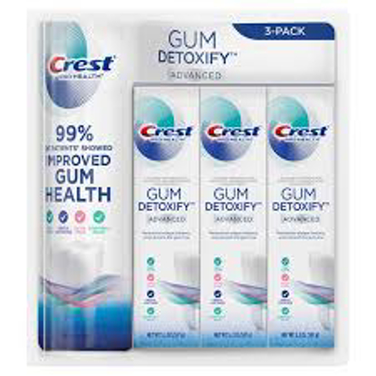 Crest Gum Detoxify Advanced Toothpaste, 5.2 oz 3 pack