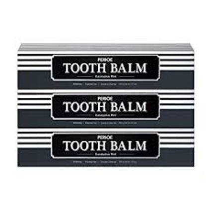 TOOTH BALM Toothpaste by PERIOE Eucalyptus Mint 3 pack