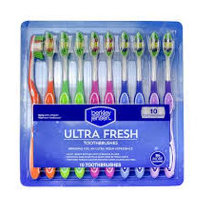 Berkley Jensen Ultra Fresh Toothbrushes 10 pk.