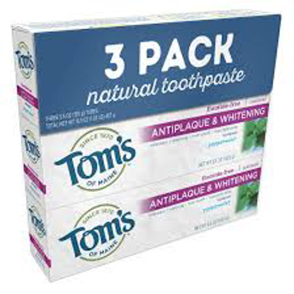 Tom's of Maine Natural Tooth Paste 3 pk