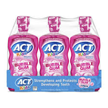 ACT Kids Bubblegum Blowout Anti-Cavity Rinse 3 ct. 16.9 oz