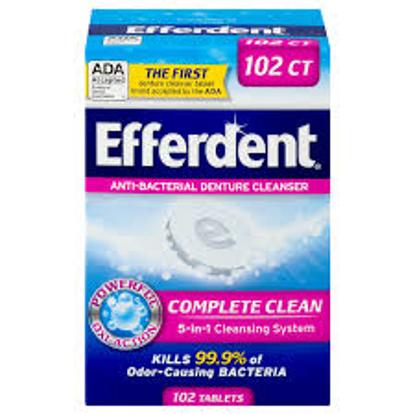 Efferdent Anti-Bacterial Denture Cleanser Tablets 252 ct