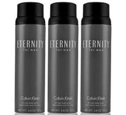 Eternity for Men 3 Pack Body Spray  5.4 oz. 3 pk.