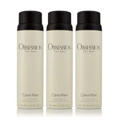 Obsession for Men 3 Pack Body Spray  5.4 oz. 3 pk.