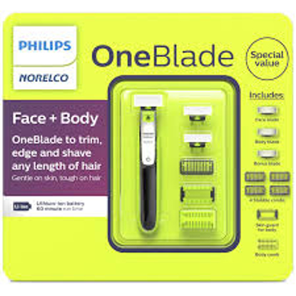 Philips Norelco One Blade Face + Body Electric Trimmer and Shaver