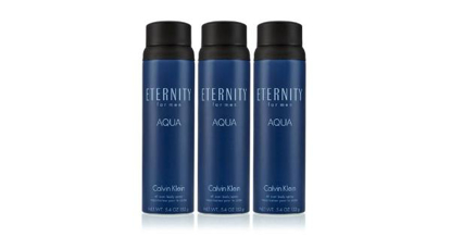 Eternity Aqua for Men 3 Pack Body Spray  5.4 oz. 3 pk.