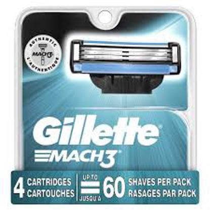 Gillette Mach3 Men's Razor Handle  13 Blade Refills