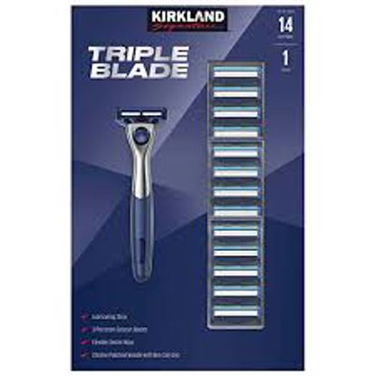 Kirkland Signature Triple Blade Refill Cartridges 18 count