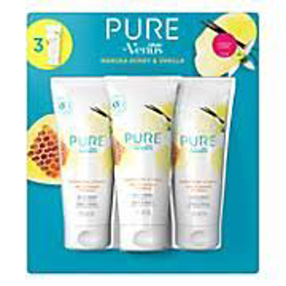 PURE by Gillette Venus Shaving Cream Manuka Honey and Vanilla 3 ct