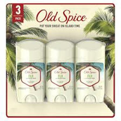Old Spice Invisible Solid Antiperspirant Deodorant for Men Fiji with Palm Tree Scent 2.6 oz 4 pk