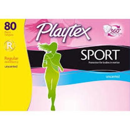 Playtex Sport Regular Tampons 80 ct