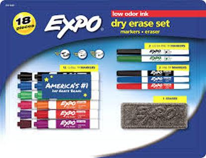 EXPO 18 Pc Dry Erase Set
